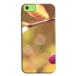 Slim Fit Design For Iphone 5c Case Brown HUGrgnegzAf