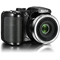 Kodak AZ252BK Point & Shoot Digital Camera with 3 LCD, Black