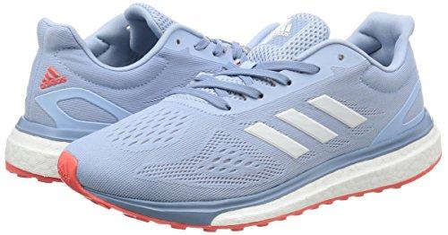 Lt De Bleu Noir Adidas gris Comptition Chaussures Response Running Femme Htwz5