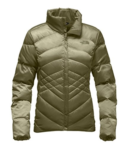 The North Face Women's Aconcagua Jacket - Burnt Olive Green - S (Past Season) by The North Face