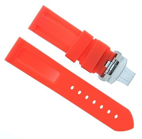 iver Strap Band Deployment Clasp Buckle for PANERAI #2 (Panerai Rubber Band)