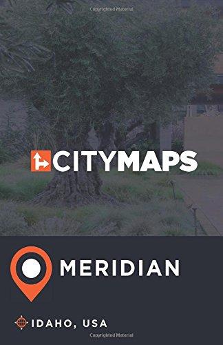 City Maps Meridian Idaho, USA