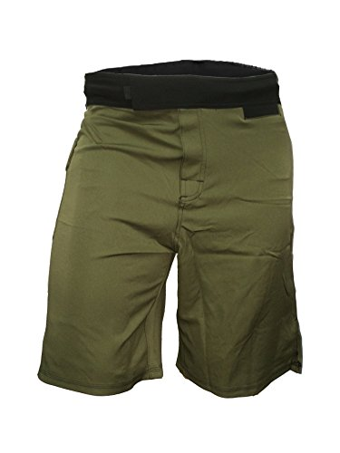 Epic MMA Gear WOD Shorts Agility 1.0 (Army Green, 34)