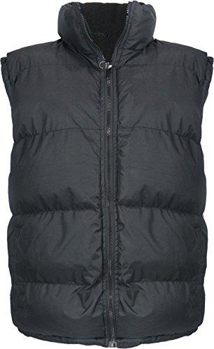 Leehanton Men's Sleeveless Fleece-Lined Bubble Vest (2X-Large, (Bubble Vest)