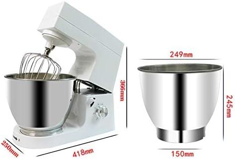Robot Pâtissier 300W, 6 Vitesses Robot Pétrin Multifonction avec Bol 7L, Batteur, Fouet, Crochet, Robot de Cuisine