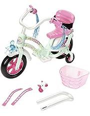 Zapf Creation 827208 Baby Born Play&Fun Fahrrad rosa, weiß, Mint