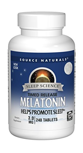 Melatonin 3mg Timed Release Source Naturals, Inc. 240 Sustained Release Tablet