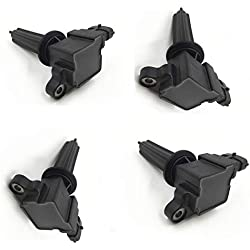Qauick Set of 4 12787707 H6T60271 UF526 UF-526 Ignition Coil for Saab 9-3 9-3X 2.0L