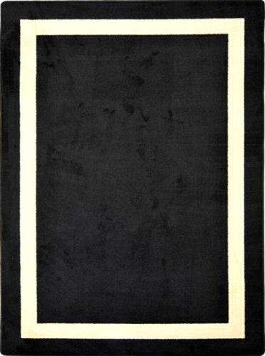 2706 Rug (Joy Carpets Family Legacies Portrait Black Rug Oval 7'8