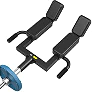 Shoulder Press Landmine Handle, T Bar Row Attachment for 2 Inches Olympic Barbell Bars, Strength Training Back