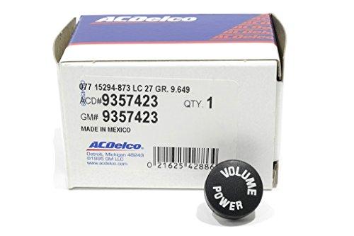 OEM NEW Radio Volume Control Knob Push Button 01-04 Alero Aurora Bravada 9357423