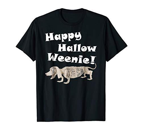 Dachshund Halloween Shirt-Happy Hallow Weenie for Women