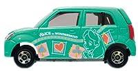 1/57 スズキ アルト 不思議の国のアリス(ミントグリーン) 「ディズニー トミカコレクション D-41」の商品画像