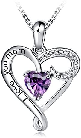 Mothers Birthday Sterling Pendant Necklace product image