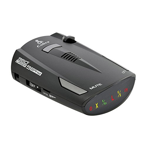 Cobra 9 Band Cop Police Laser Detection Radar Detector w/ LaserEye | ESR-700 -  ESR700-RB