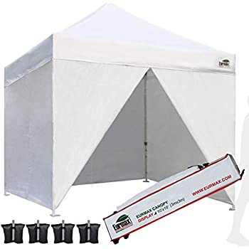 Amazon Com Eurmax 10 X 10 Pop Up Canopy Commercial Tent