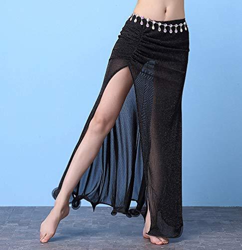 Femme Vtements du Jupes YiiJee Ventre Danse Costume Danse de Noir Danse Dance Belly zZcqqBwdT
