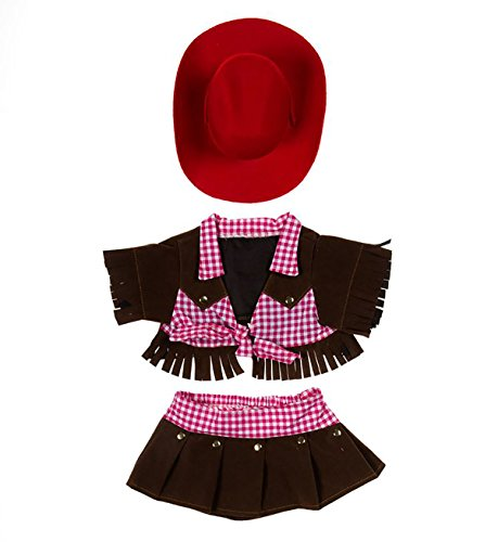 Cowgirl Outfit Teddy Bear Clothes Fit 14