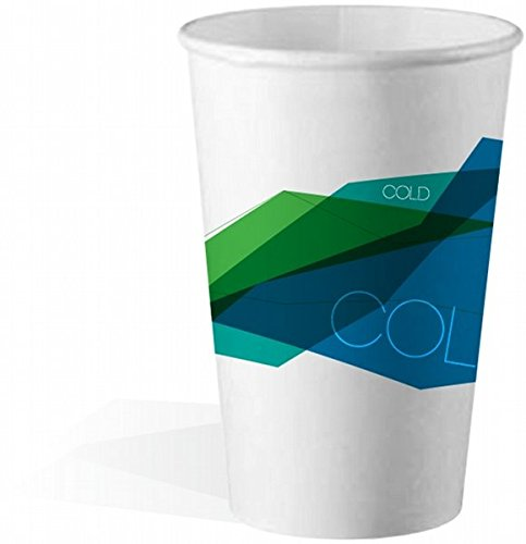 - 12 OZ. SQUAT STOCK COLD PAPER CUP (2000 COUNT)