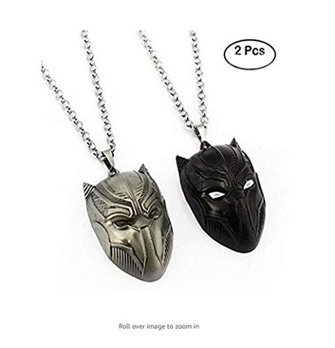 Civil War Necklace Superhero Pendant Spider Man Ant Man Black Panther Necklaces Fashion Men Women Gift by Jecool (Image #3)