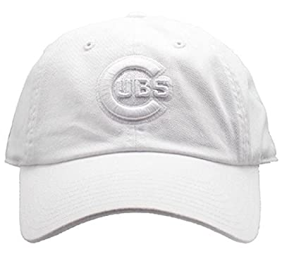 Chicago Cubs MLB American Needle Tonal Ballpark Slouch Cotton Twill Adjustable Hat (Snow White)