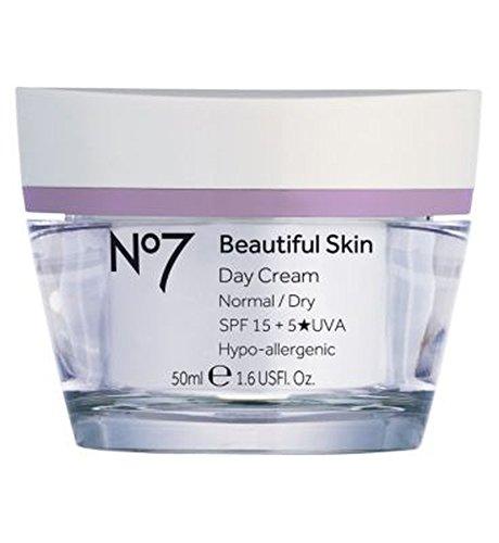 ノーマル/ドライスキンSpf 15 50ミリリットルのためNo7美肌デイクリーム (No7) (x2) - No7 Beautiful Skin Day Cream for Normal / Dry Skin SPF 15 50ml (Pack of 2) [並行輸入品] B01MXDG3B3