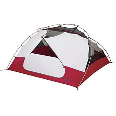 MSR Elixir 4 Tent, Red