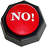 The NO! Button-Electronic Voice Toy Gag Gift-10 Different Versions of No