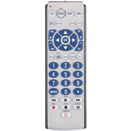 AmerTac - Zenith ZB410 4-Device Big Button Universal Remote