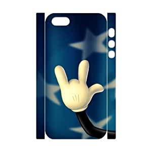 ALICASE Diy Customized Case Rock & Roll 3D Case for iPhone 5,5S [Pattern-1]