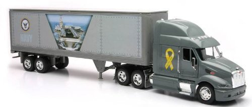 Newray Peterbilt US Navy Truck Diecast 1:32 Scale [Toy] [Toy] [Toy] [Toy] [Toy]