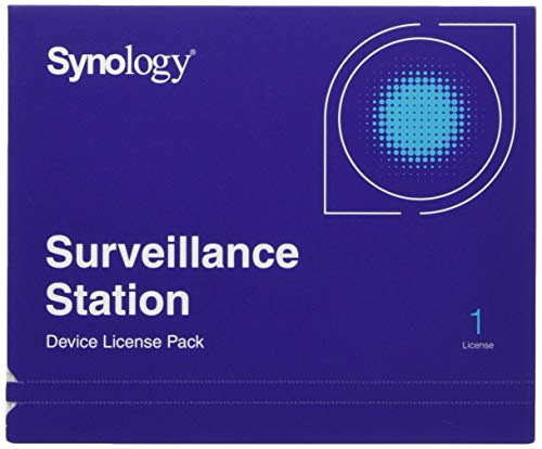 Synology IP Camera License Pack for 1 (CLP1) (Synology Ip Camera License Pack For 1)