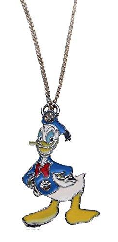 Disney Donald Pendants - Disney's DONALD DUCK Character Metal/Enamel PENDANT with 17