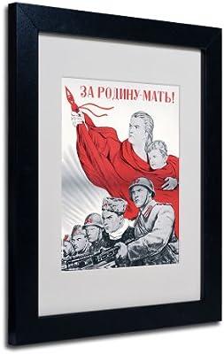 Trademark Marca Fine Art Ruso Soviética Cartel para la ...