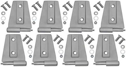 8 Pieces 4 Door 40576 Kentrol Hinge Set