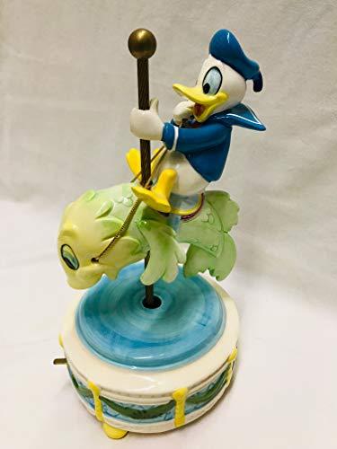 Schmid Donald Duck Music Box Plays Anchors Aweigh Vintage Rare