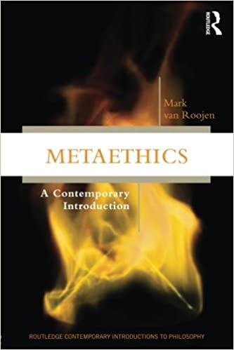Metaethics: A Contemporary Introduction (Routledge Contemporary Introductions to Philosophy) cover
