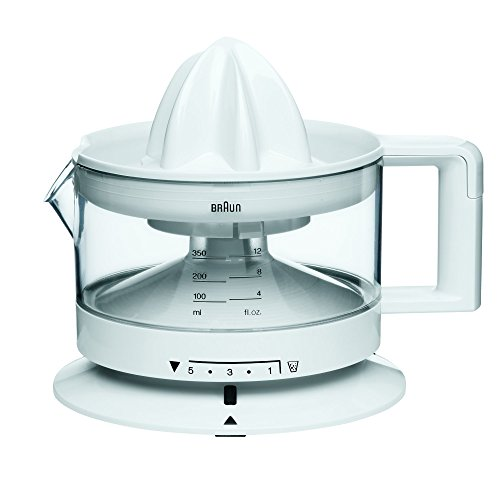 Braun Electric Citrus Press, 350 ml , 20 W, White