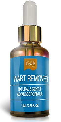 Wart Remover Liquid Rapidly Removes All Kinds of Plantar and Common Warts, Papillomas, Skin Tags With no Harm and Irritation | Advanced Natural Formula | Effective Painless Wart Removal Treatment