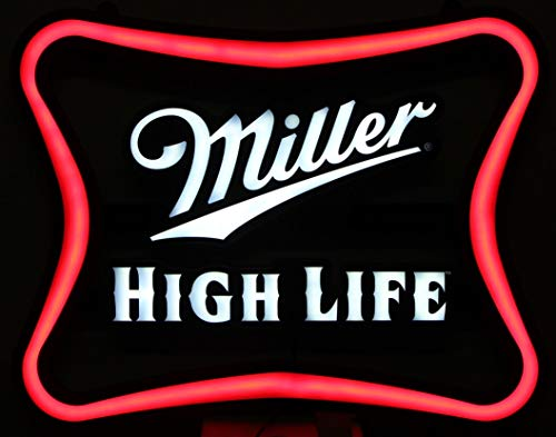 Miller High Life Beer LED Lighted Display Sign Soft for sale  Delivered anywhere in USA