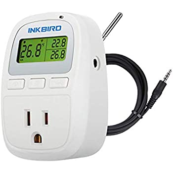 Inkbird Pre-Wired Programmable Outlet Thermostat ITC-310TS