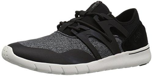 Gbx Black Shoes (GBX Men's Aria Oxford, Black/White, 14 Medium US)