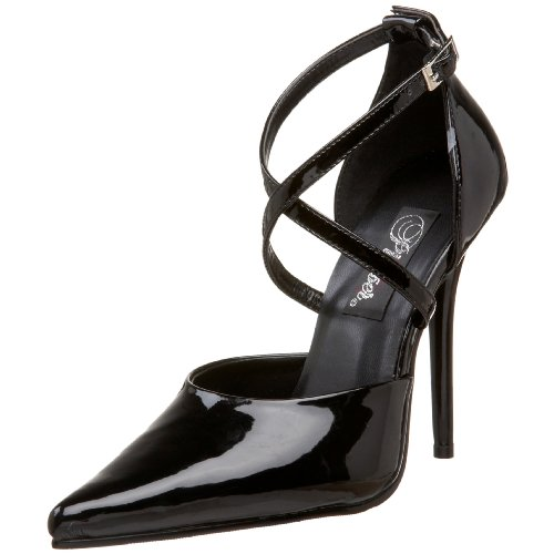 Pleaser MILAN-42 - Zapatos para mujer Negro