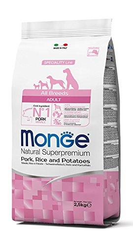 Dolomitenpet Monge cerdo, arroz y patatas para todas las Razas 15 kg: Amazon.es: Productos para mascotas