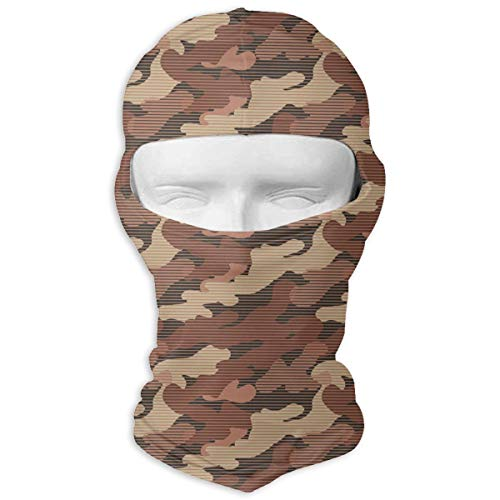 UV Protection Face Mask for Cycling Outdoor Sports Full Face Masks UK Digital Desert Camo Balaclava Hood Skullies ()
