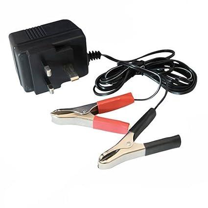 Silverline 634004 - Cargador de baterías 12 V (500 mA)