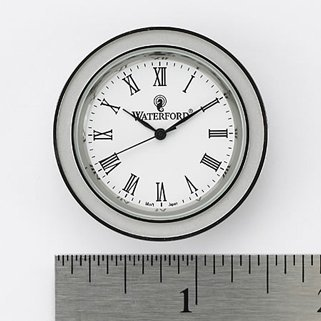 Amazon.com: Waterford Clock Face Insert, Small Round, Roman ...