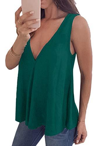 Chemisier Mousseline Green en d't Beach Shirt en Soie Manches T Courtes Manches pour Femme Chemise 2 Scothen Shirt Dbardeurs T en de Shirt Chemisier Mousseline sans Mousseline Blouse Summer wapHWZ7qW