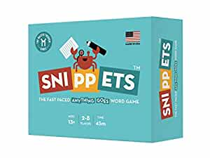 Snippets - The Fast Paced, Anything Goes Word Game
