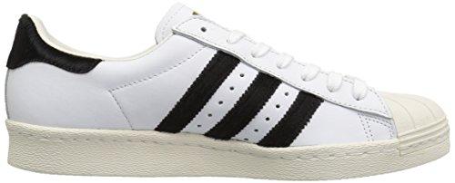 Adidas Originals Mens Superstar 80 Ftwwht, Cblack, Goldmt